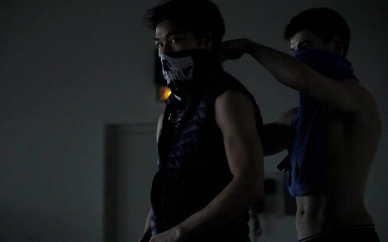 Les Sauvages est une création chorégraphique de la Compagnie Lamento crée en 2015 par Sylvère Lamotte.