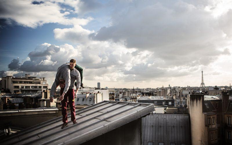 Ruines est une création chorégraphique de la Compagnie Lamento crée en 2015 par Sylvère Lamotte.